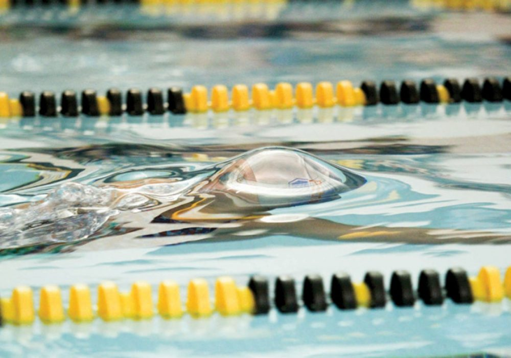 Inspiration from peers led to swim image