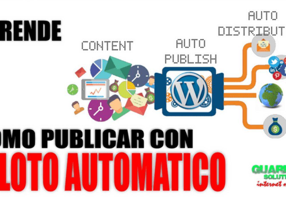 Automatizacion de WordPress