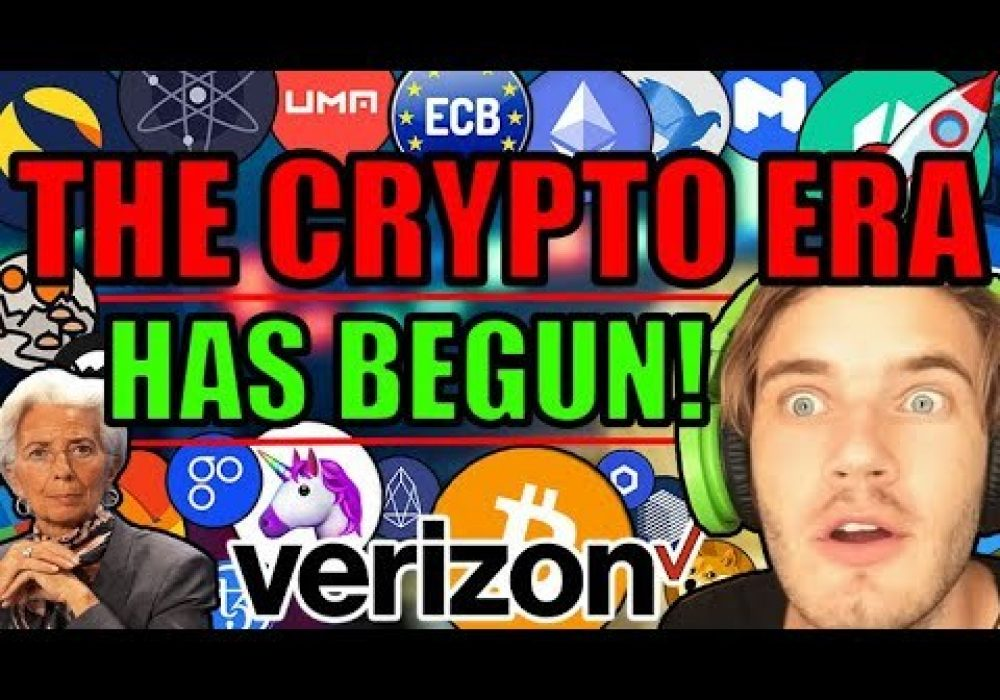 PewDiePie Promotes Ethereum! Verizon Adding Blockchain! ECB Creating PERFECT Backdrop For Bitcoin!