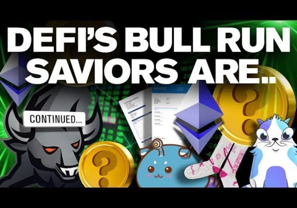 DeFi Bull Run Cancelled!? No!! This Will Reignite It…
