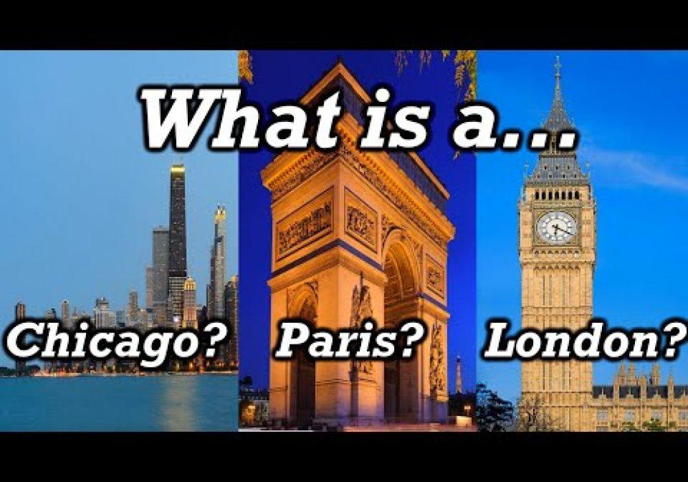 Origins of Major City Names