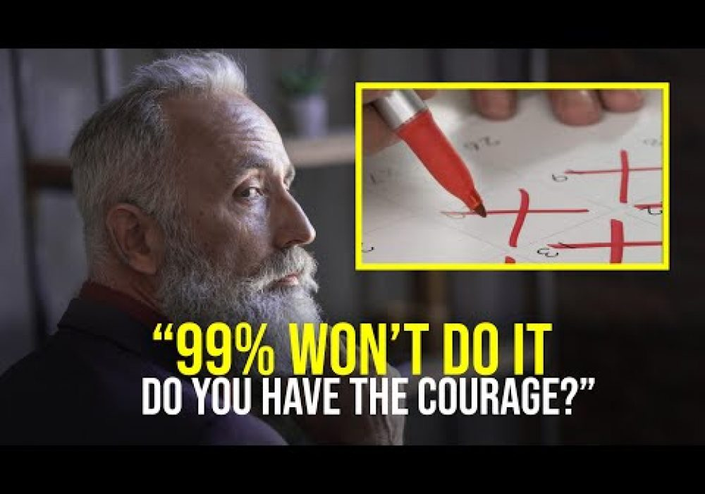 Do You Have The Courage to Do It? (an eye-opening video)