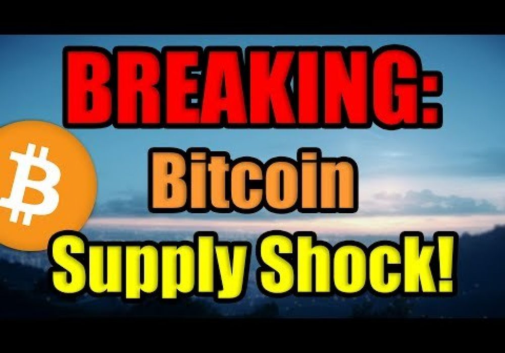 BREAKING: A Large Amount of the Bitcoin Supply HAS JUST BEEN BOUGHT by MicroStrategy Incorporated!!