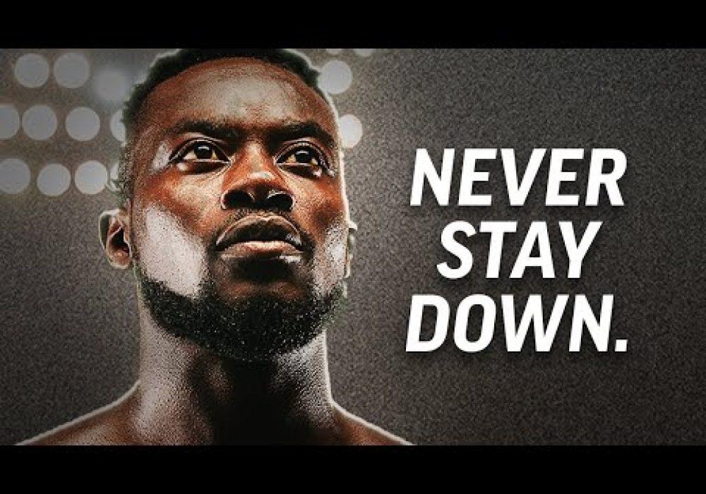 NEVER STAY DOWN – Best Motivational Speech Video (ft. Logan Taylor and Ronald A. Burgess Jr.)