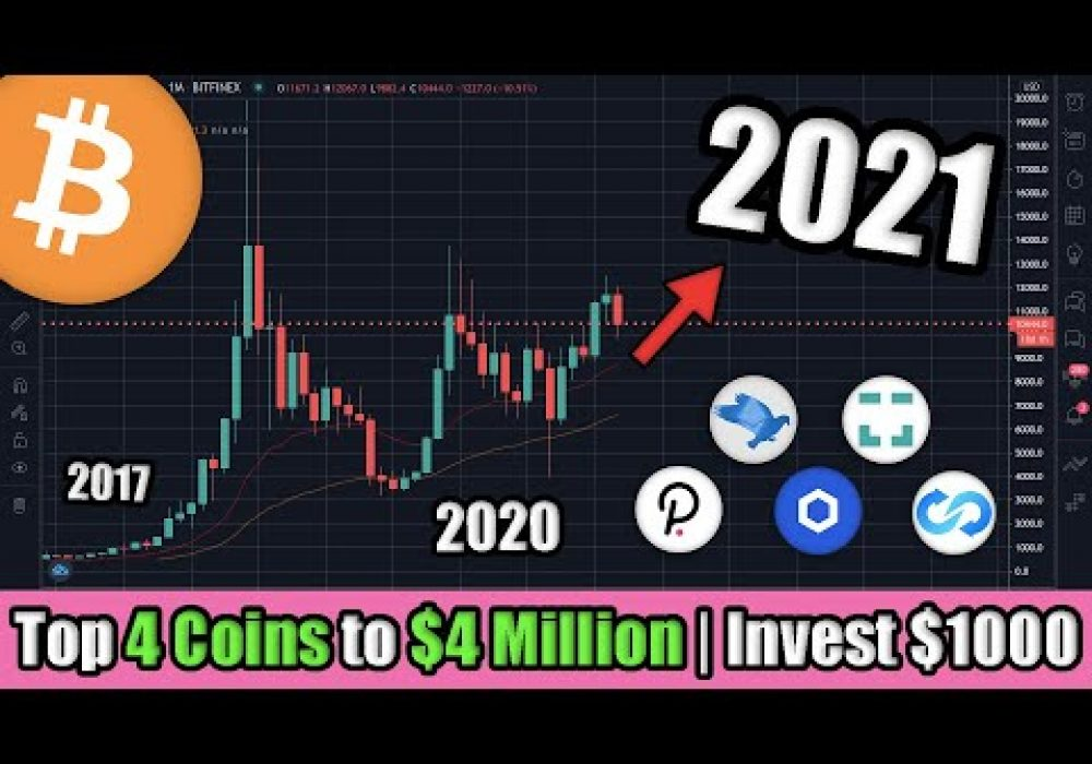 How I Would Invest $1000 in Cryptocurrency to Become a Millionaire in 2021 | Top Crypto Investments