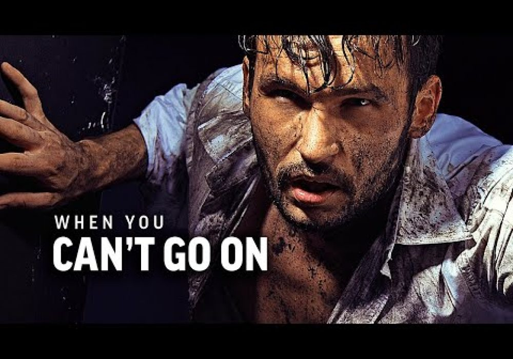 WHEN YOU CAN'T GO ON – Powerful Motivational Speech Video (Featuring Joe De Sena)