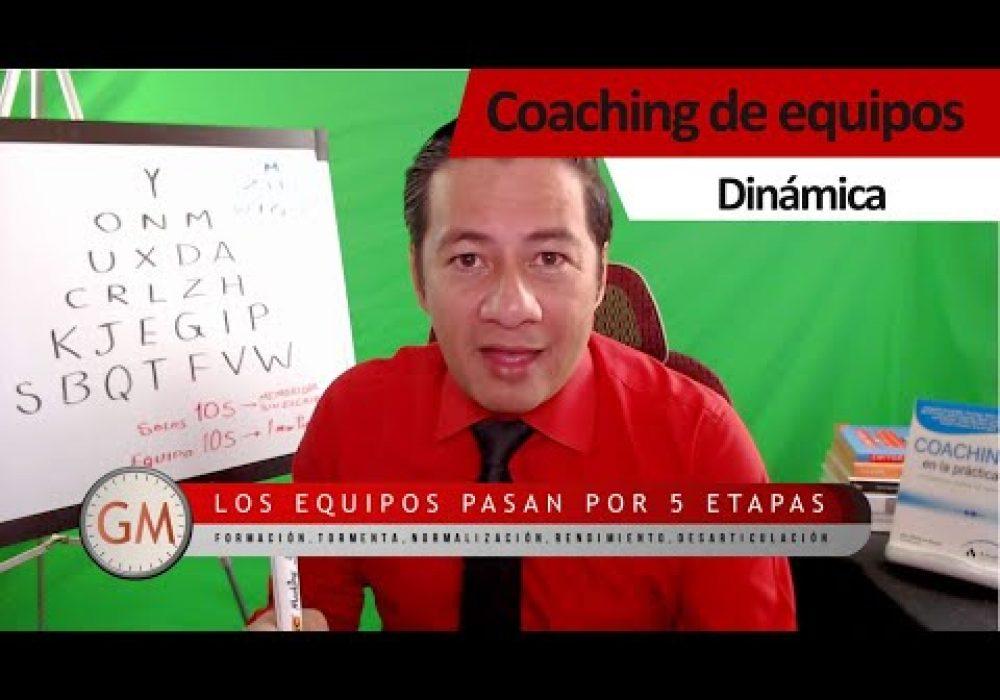 Coaching de equipos Dinámica pirámide de letras 2