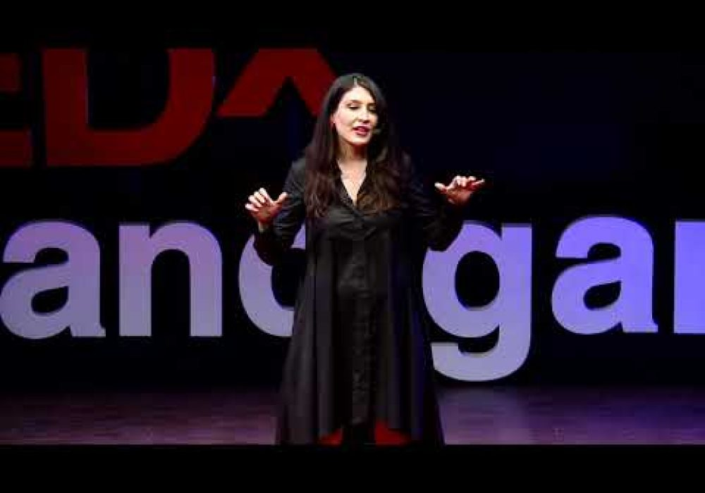 Navigating the fake news world | Mina Soltangheis | TEDxChandigarh