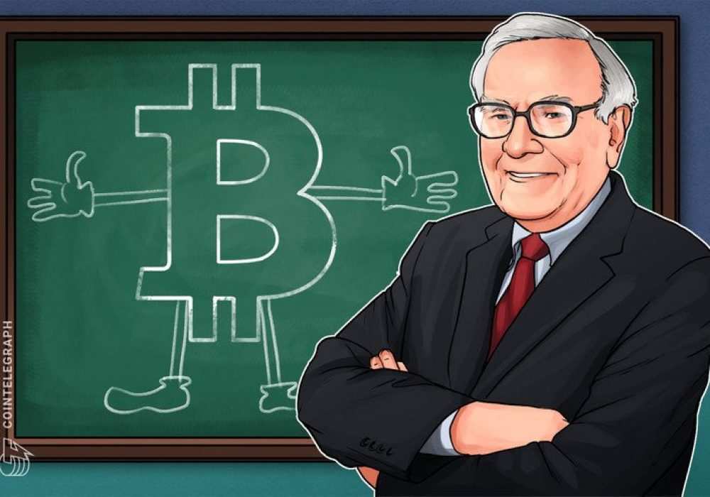 Warren Buffett Doesn't Want to Own any Cryptocurrency – Cointelegraph