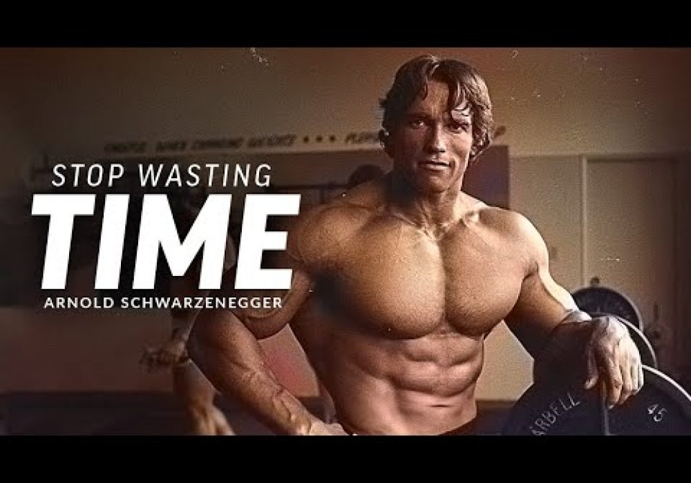 STOP WASTING TIME – Best Motivational Speech Video (Featuring Arnold Schwarzenegger)
