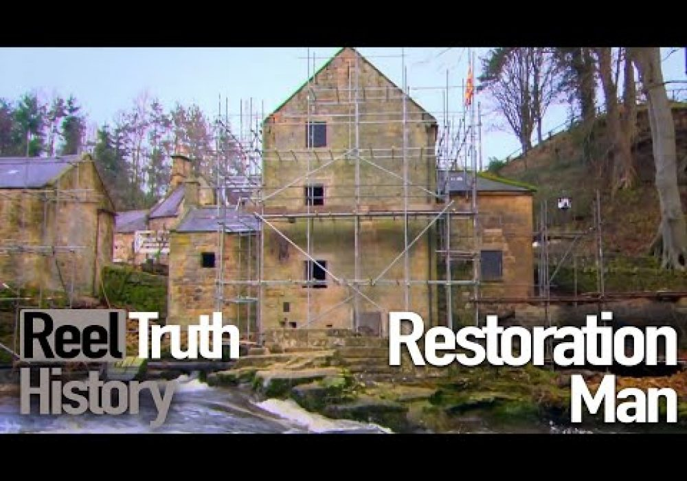 Restoration Man: 100 Year Old Watermill (Before and After) | Reel Truth History Documentary