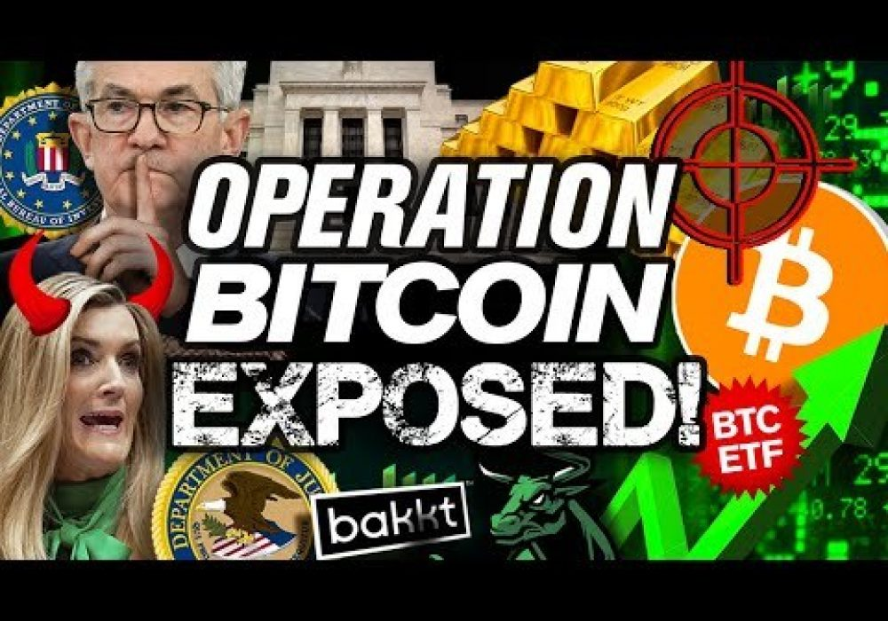 """The FEDs """"Secret Plan"""" For BITCOIN REVEALED!!"""