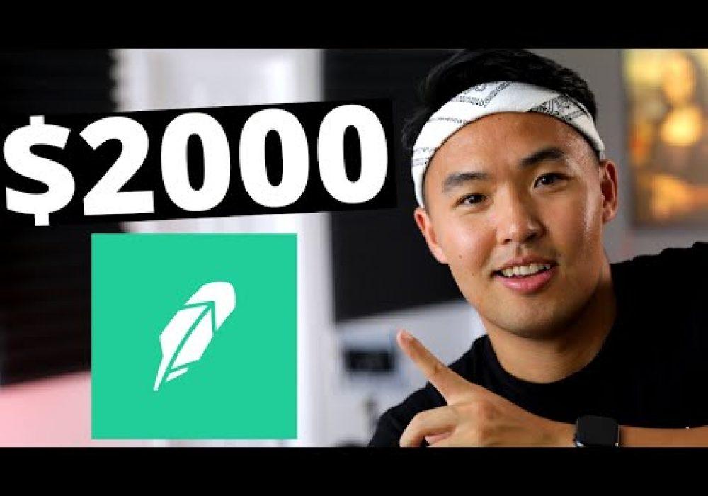 How I made $2000 on Robinhood – Stocks For Beginners