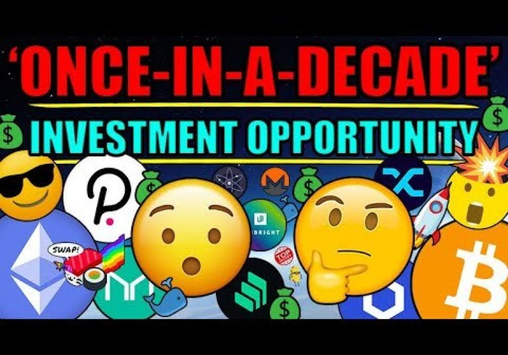 "DeFi (Pre 2021) Is A 'Once In A DECADE Investment Opportunity' | The ""DEFI Dip"" Is Being Bought!"