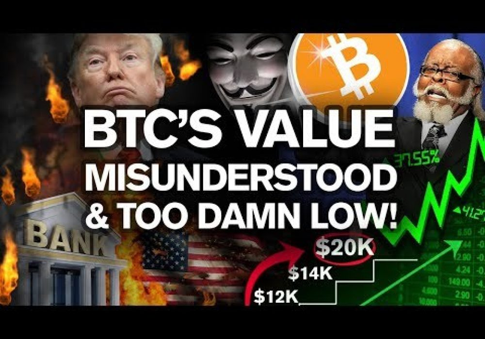 100% PROOF BITCOIN Is Severely UNDERVALUED!!