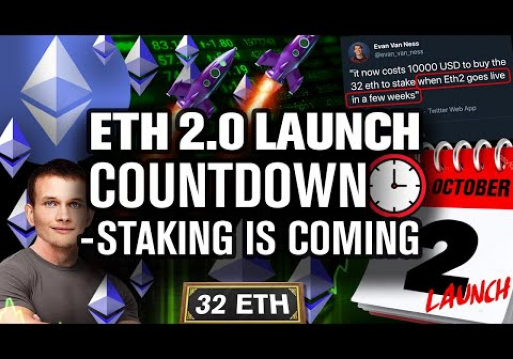 ETHEREUM 2.0 Is Near! On Oct. 2nd ETH Will MOON!!