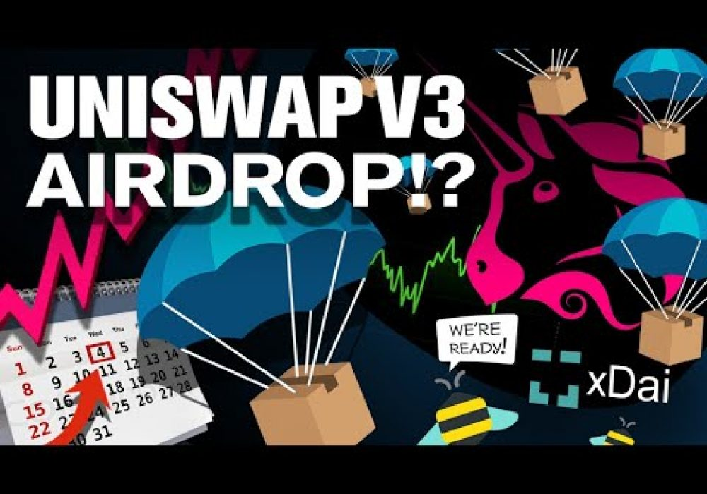 2nd UNISWAP ($UNI) Airdrop with V3 Launch!? When!?
