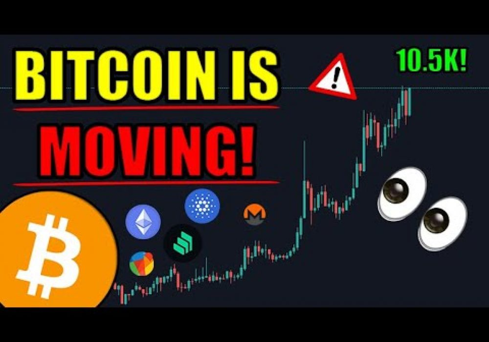 🔴Bitcoin Is Moving! Historic Breakout! 11k Incoming! So Much GREAT Cryptocurrency News Today!