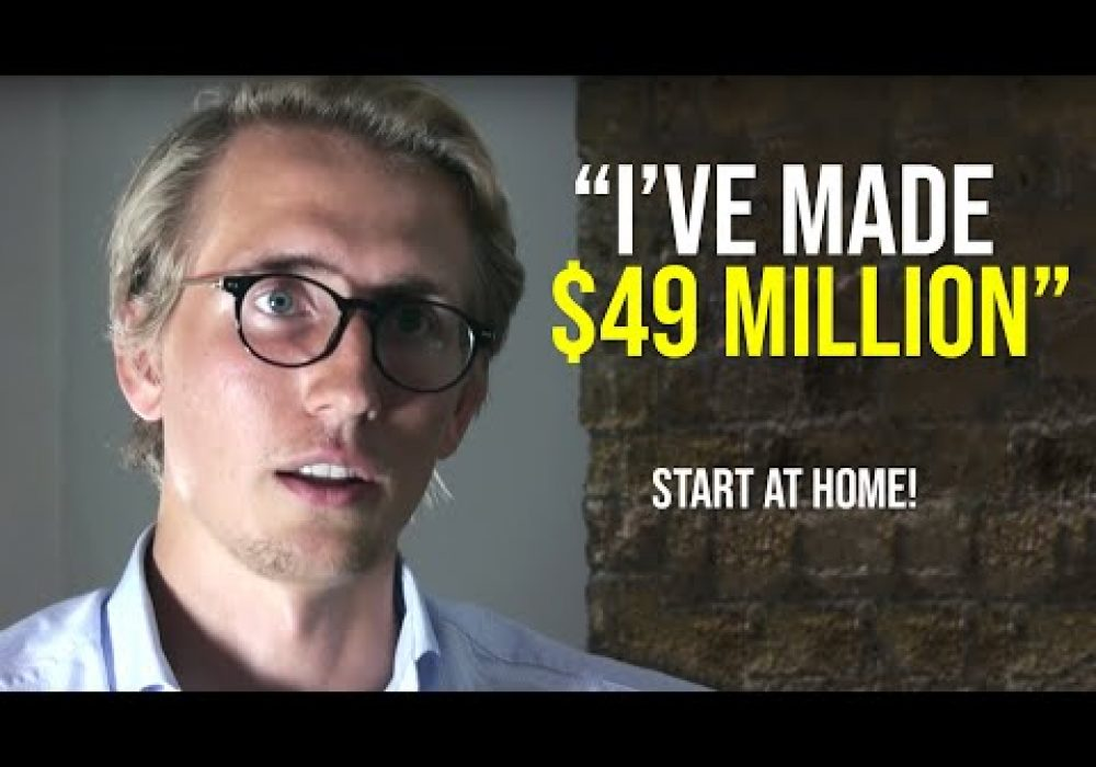 """START AT HOME!"" Young Millionaire Shares His Story"