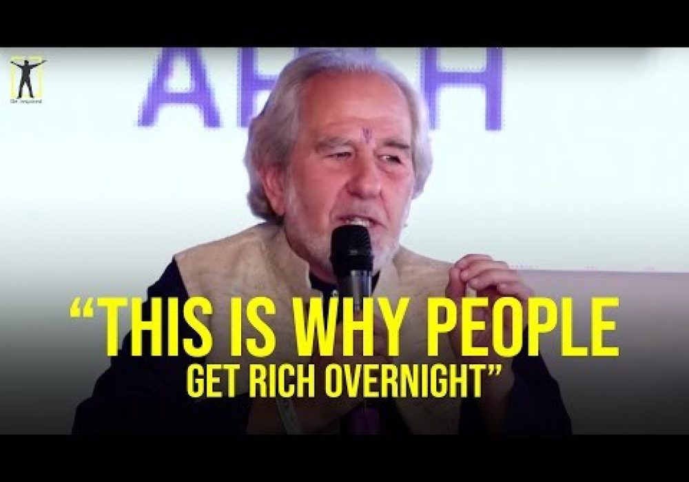 'Getting Rich Overnight IS NOT a Lucky Coincidence' (Dr. Bruce Lipton)