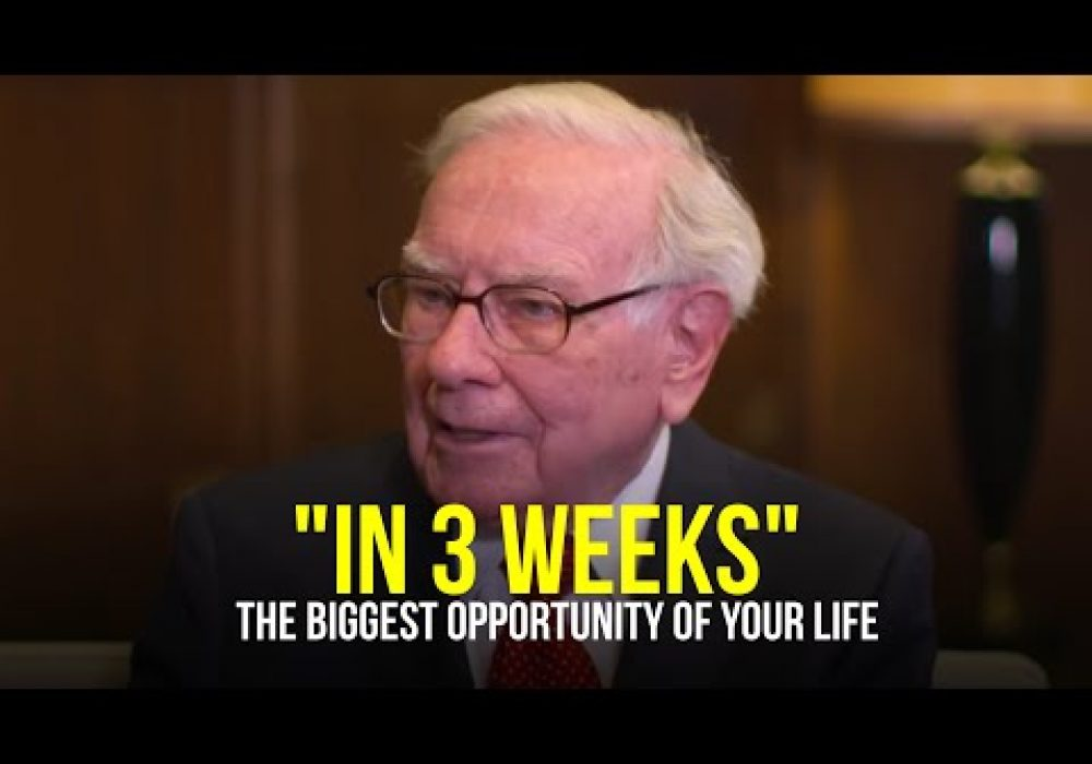 """You Need To Do It FAST…In 3 WEEKS"" 
