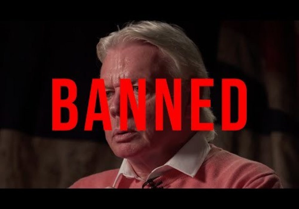 David Icke BANNED From Youtube | Is Free Speech Dying?