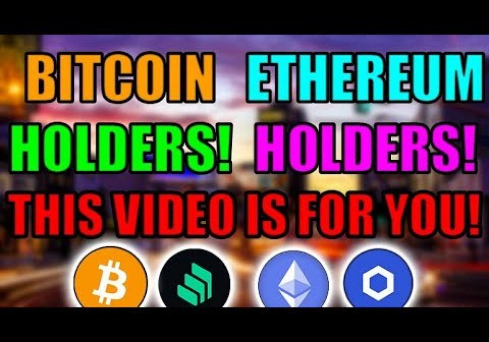 Bitcoin Setting Up For Something Big! HERE IS WHY! Goldman Sachs Move Towards Ethereum! [COMP/LINK]
