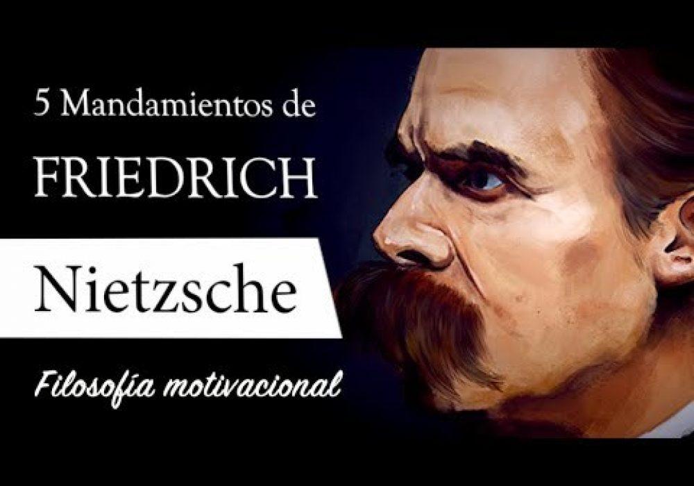 5 MANDAMIENTOS de NIETZSCHE (Filosofía Motivacional) – Superhombre, Eterno Retorno e Individualismo