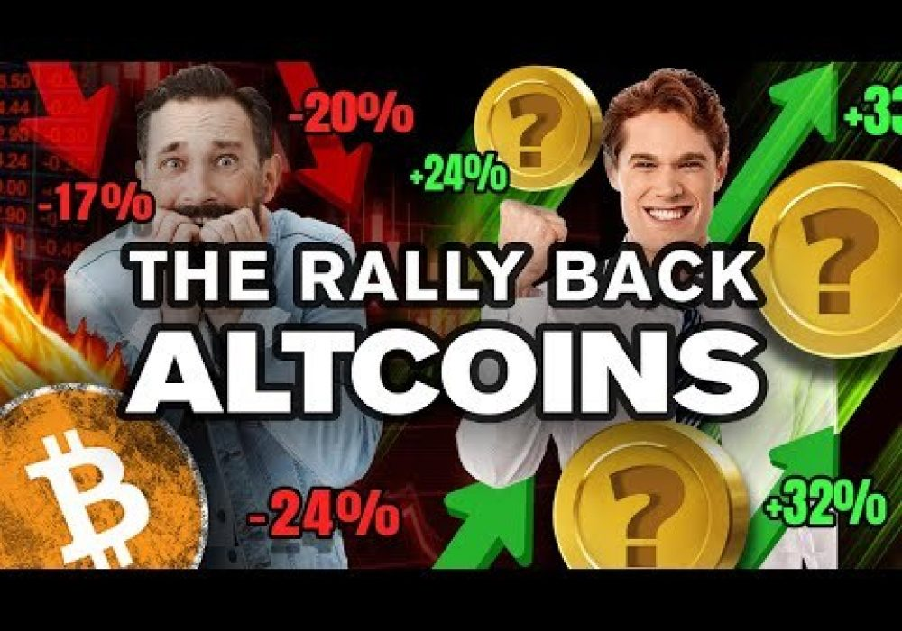 Panic!? No…I'm Buying the DIP w/ These ALTCOINs!