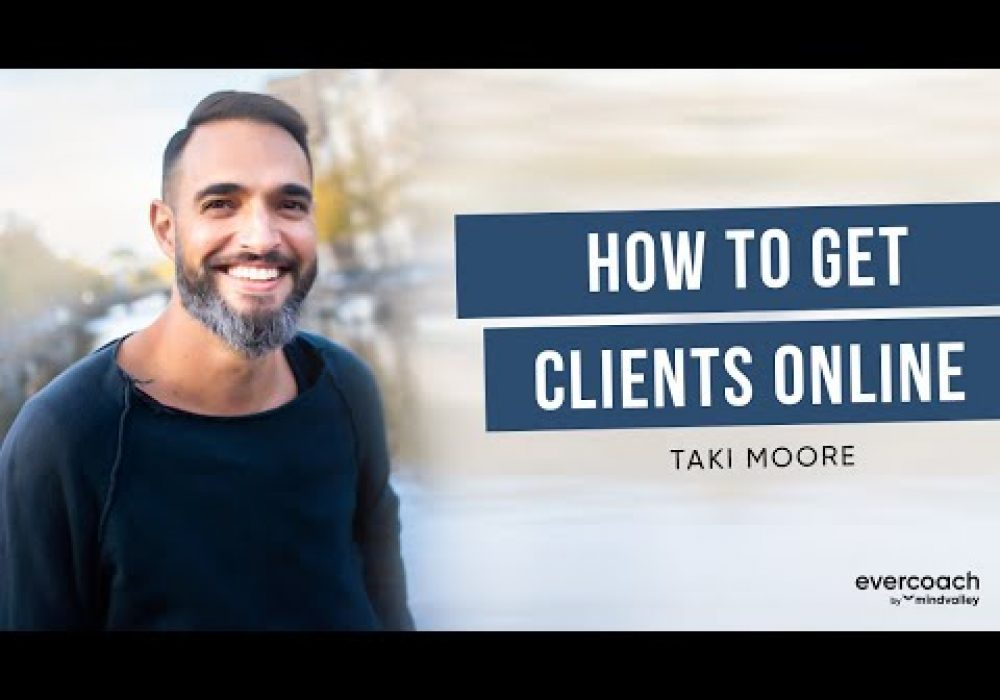 How To Attract Coaching Clients Online Using Chat | Taki Moore