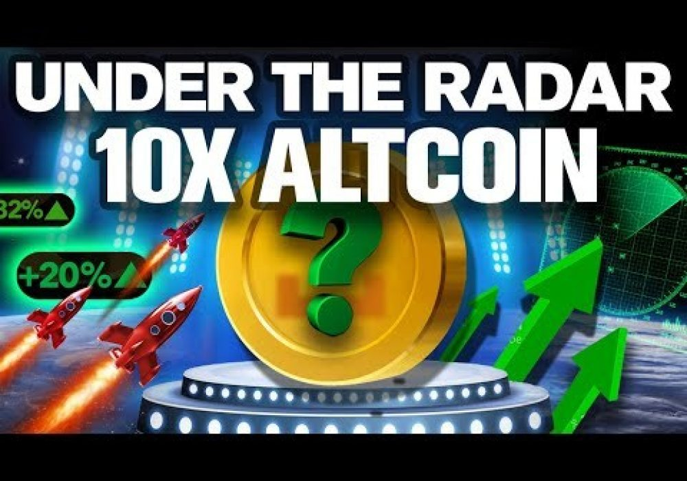 Most Undervalued Altcoin (Could 10X Very Soon!)